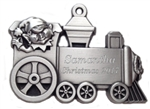 Personalized Elf Engineer Pewter Ornament