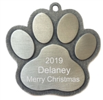 Personalized Dog or Cat Ornament