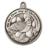 Engravable First Day of Christmas Ornament