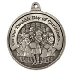 Engravable Twelfth Day of Christmas Ornament