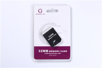 32MB Gamecube Memory Card
