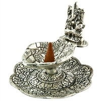 Wholesale Lord Ganesh on Hand Carved Charcoal & Cone Burner