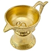 Wholesale Om Symbol Oil or Ghee Lamp