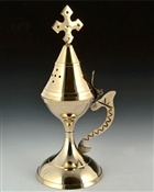 Wholesale Cross Carved Censer Burner