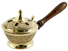 Wholesale Brass Charcoal Handle Burner