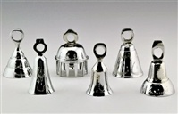 "3"" Assorted Chrome Bells"