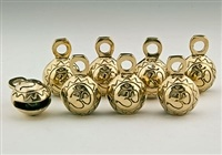 Wholesale Om Symbol Brass Ghungroo Bells
