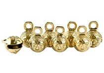 Wholesale Sun Face Brass Ghungroo Bells