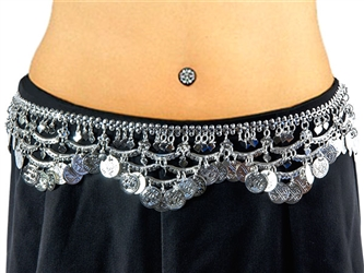 Wholesale Belly Dance Coins Belt