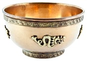 Wholesale Dragon Copper Offering Bowl