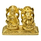 Wholesale Laxmi & Ganesh Brass Statue