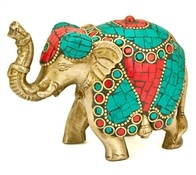 Wholesale Elephant Brass Statue