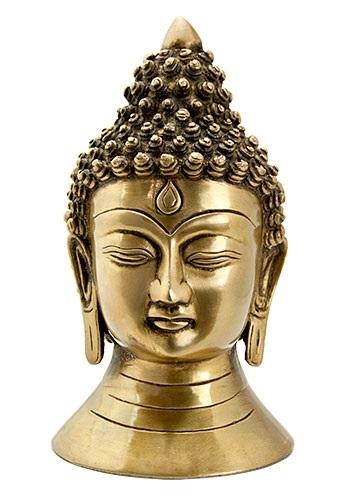 Lord Buddha Head Brass Statue Wholesale