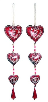 Wholesale Heart String Bells