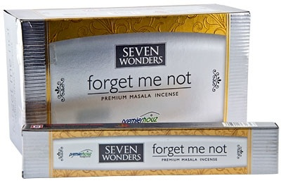 DP154 Seven Wonders Forget Me Not Incense - 15 Gram Pack (12 Packs Per Box)