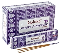 Wholesale Goloka Nature's Lavender Incense