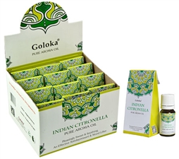 Wholesale Goloka Indian Citronella Aroma Oil
