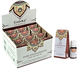 Wholesale Goloka Pure Sandalwood Aroma Oil