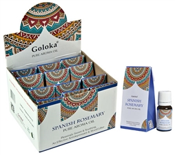 Wholesale Goloka Spanish Rosemary Aroma Oil