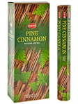 Wholesale Hem Pine Cinnamon Incense - 20 Sticks Hex Pack