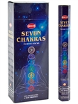 Wholesale Hem Seven Chakra Incense - 20 Sticks Hex Pack