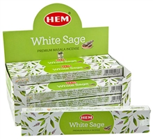 Wholesale Incense - Hem White Sage Masala Incense