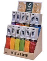IDP34<br><br> Herb & Earth Incense Display Set - 144 Packs