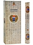 Wholesale Kamini Myrrh Incense - 20 Sticks Hex Pack