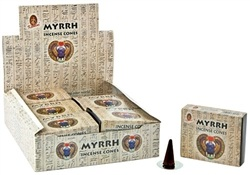Wholesale Cone Incense - Kamini Myrrh Cones Incense