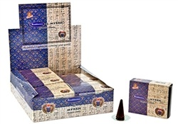Wholesale Cone Incense - Kamini Frankincense & Myrrh Cones Incense
