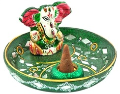 Wholesale  Lacquer Lord Ganesh Incense Burners