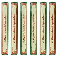 Wholesale Mysore Sandal Incense - 20 Sticks Hex Pack