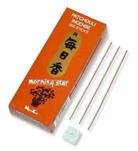 50 pack Patchouli Morning Star Stick Incense /& Holder
