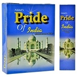 Wholesale Incense - Pride of India Incense Sticks - 25 Gram Pack