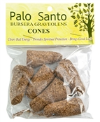 Wholesale Palo Santo Wood Cone Incense