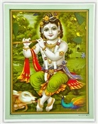 Wholesale Lord Krishna Art Poster