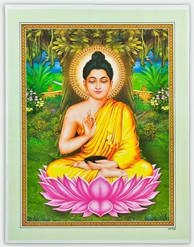 lord buddha art poster wholesale
