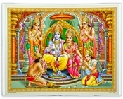 Wholesale Ram Darbar Art Poster