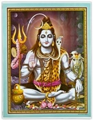 Wholesale Lord Shiva Art Poster