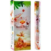 Wholesale Incense - Sac Stress Relief Incense - 20 Hex Pack