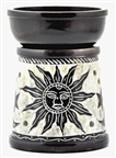 Stone Carved Sun Moon Star Aroma Lamp