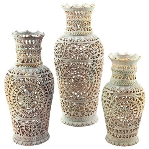 225 & Stone Flower Vase Wholesale