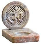 "SBR451<br><br> Om Burner for Cones & Candles 3""x4""x3.5"""