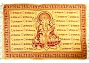 Wholesale Lord Ganesh Scarves/Altar Cloth