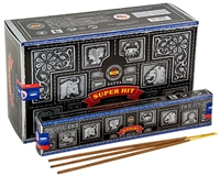 SH15<br><br> Satya Super Hit Incense - 15 Gram Pack (12 Packs Per Box)