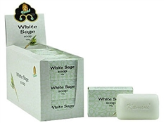 Wholesale Kamini White Sage Soap - 100 Gram Each Bar
