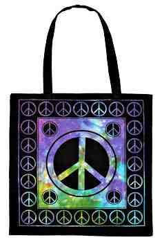 Whole Peace Sign Tote Bag