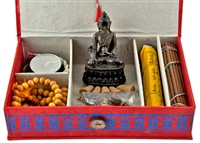 TBI102<br><br> TIBETAN TRAVELING ALTAR INCENSE GIFT PACK