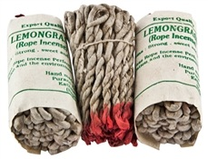 Wholesale Lemongrass Tibetan Rope Incense