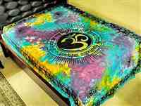 Wholesale Om Symbol with Gayatri Mantra Tapestry